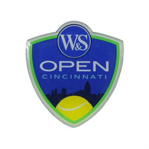 W&S Open Crest Lapel Pin