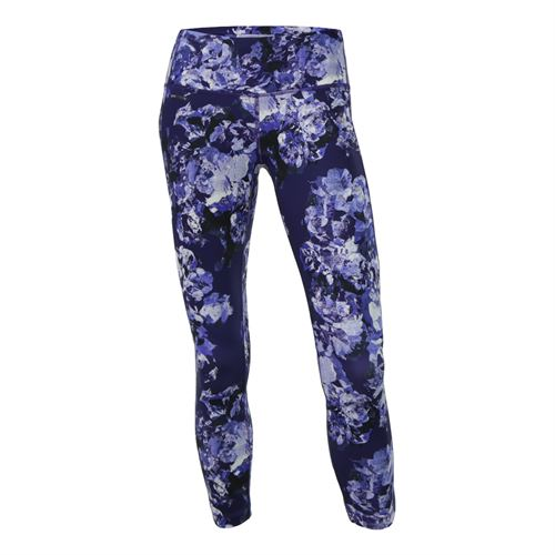 Lole Eliana Crop Pant - Dazzling Blue Spring Bloom