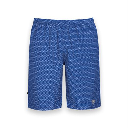 DUC Diamond Daze Printed Tennis Short - Royal Blue