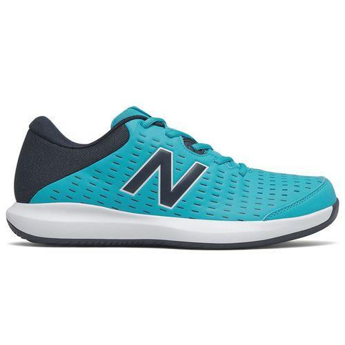 New Balance 696v4 (2E) Mens Tennis Shoe - Blue