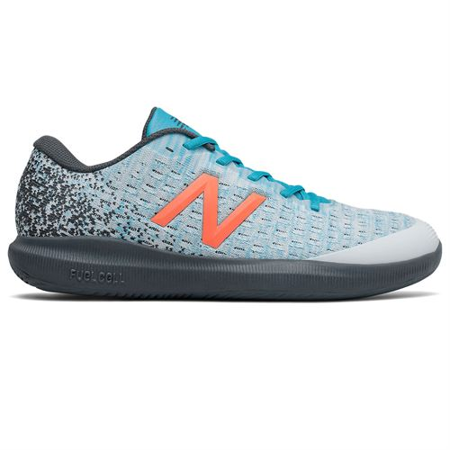 New Balance 996v4 (2E) Mens Tennis Shoe - White/Blue