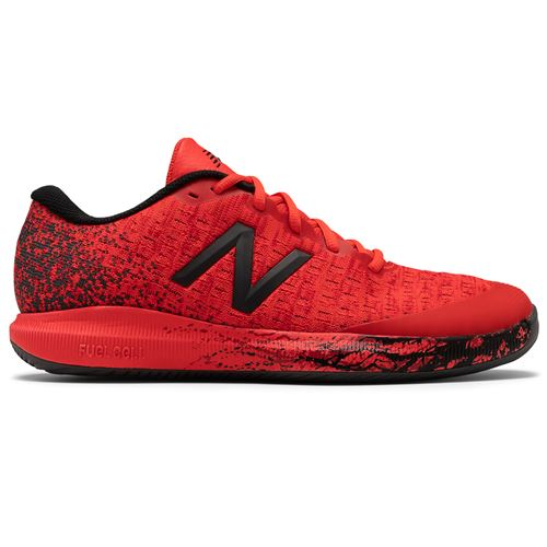 New Balance MCH996MW Mens Tennis Shoe 2E Width Red/Black MCH996MW 2E