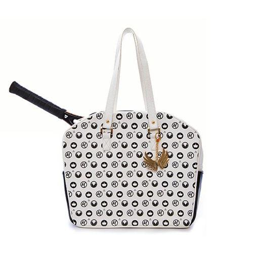 Cortiglia Marion White Royal Tennis Bag