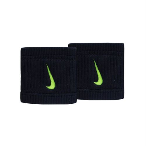 Nike Dry Fit Reveal Wristbands - Black/Volt