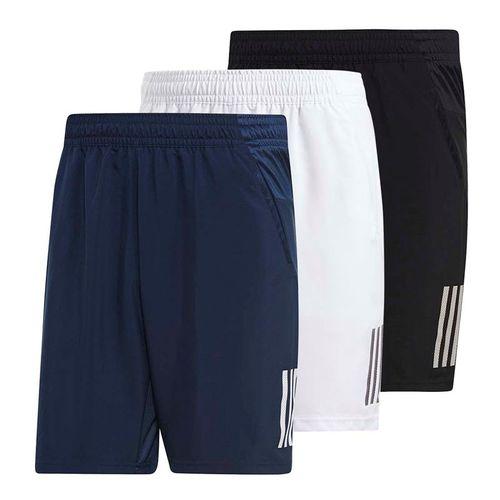 2f014a3917f adidas Club 3 Stripe Short, q119_mc3sshort   Men's Tennis Apparel