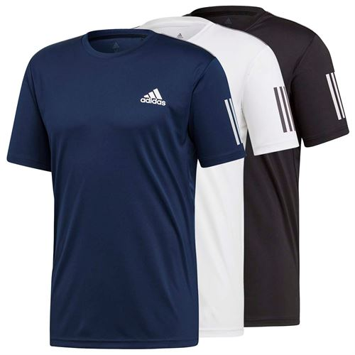 adidas Club 3 Stripe Crew