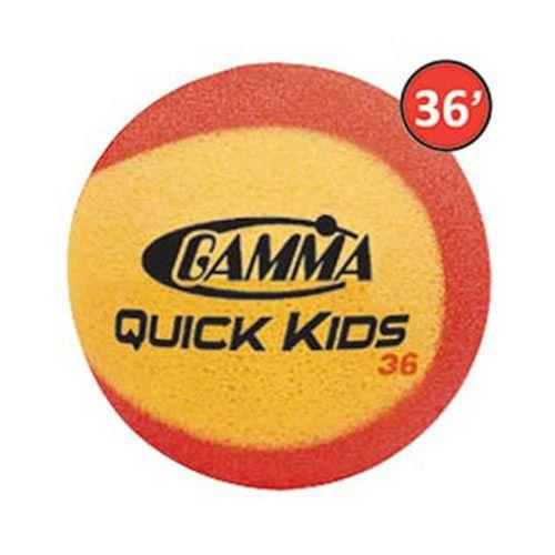 Gamma Quick Kids 36 Foam Balls 12 Pack