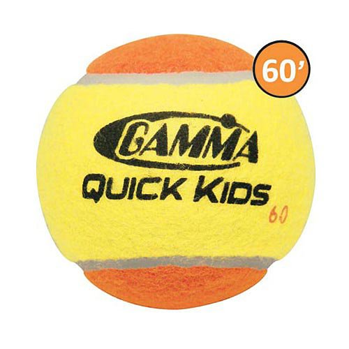 Gamma Quick Kids 60 Tennis Balls 12 Pack