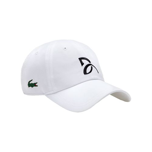 Lacoste Novak Djokovic Athlete Hat - White f62327fd82c