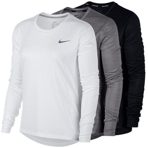 23c26d9f Nike Miler Long Sleeve, sp19_AJ8128 | Womens Tennis Apparel
