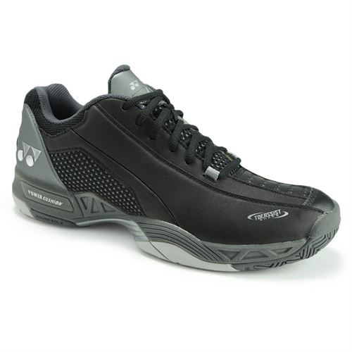 Yonex Power Cushion Durable 3 All Court Mens Tennis Shoe - Black STDB3BK