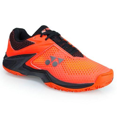 Yonex Power Cushion Eclipsion 2 Mens Tennis Shoe - Orange/Black