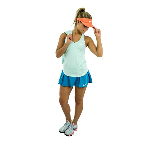 buy online cde0b d9a3f Nike Summer 2018 Womens New Look 7. Zoom. Description. In the Nike Court  Pure Tank in igloo with the Nike Pure Flex Flounce Skirt ...