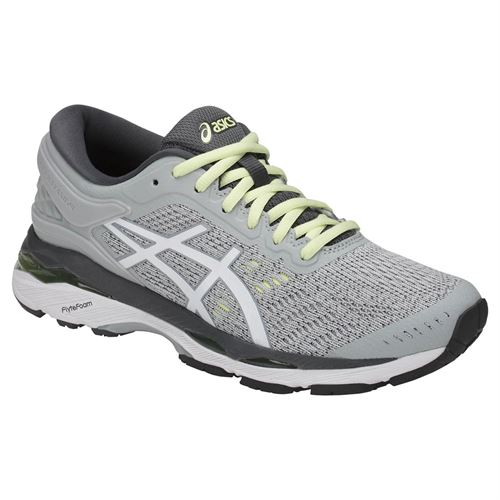 Asics Gel Kayano 24 Womens Running Shoe - Glacier Grey/White/Carbon