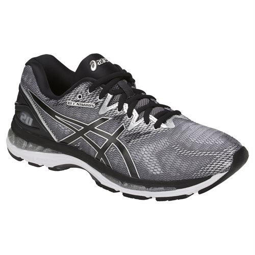 Asics Gel Nimbus 20 Mens Running Shoe - Carbon/Black/Silver