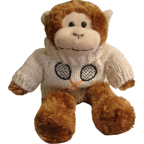 Clarke Plush Tennis Monkey
