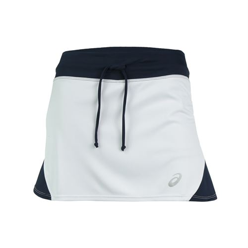 Asics Spin Slice Skirt - White/Navy