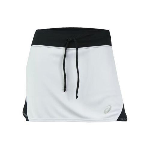 Asics Spin Slice Skirt - White/Black