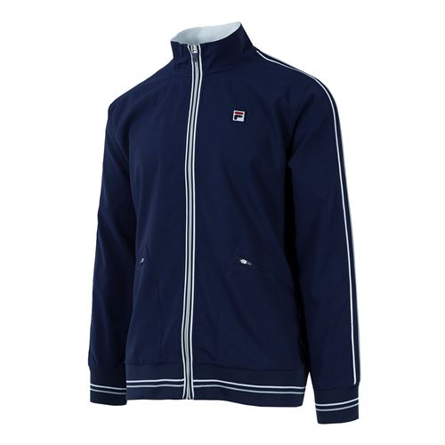 Fila Legend Jacket - Navy/White/Highrise
