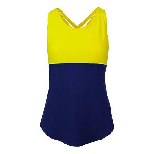 JoFit Limoncello Loop Back Tank - Vibrant Yellow