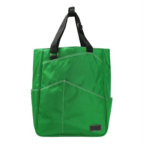 Maggie Mather Tennis Tote - Emerald