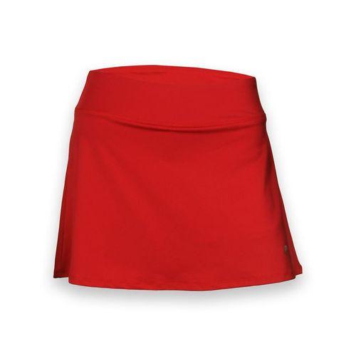 Fila Core Long Flirty Skirt - Poppy Red