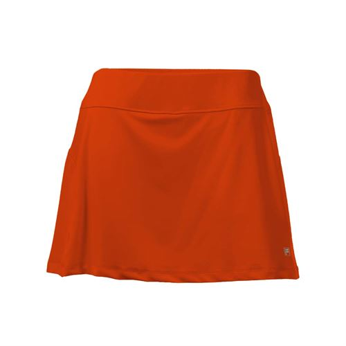 Fila Core A Line Skirt - Team Orange