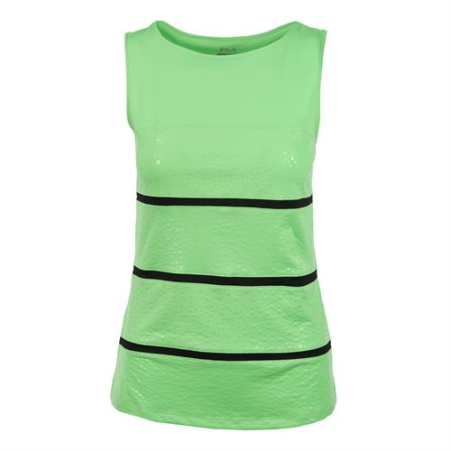 Fila Spotlight Full Coverage Tank - Lime Tonic/Black