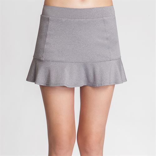 Tail 12.5 Inch Flounce Skirt - Frosted Heather