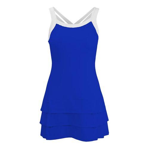 DUC Grace Fashion Strappy Dress - Royal/White