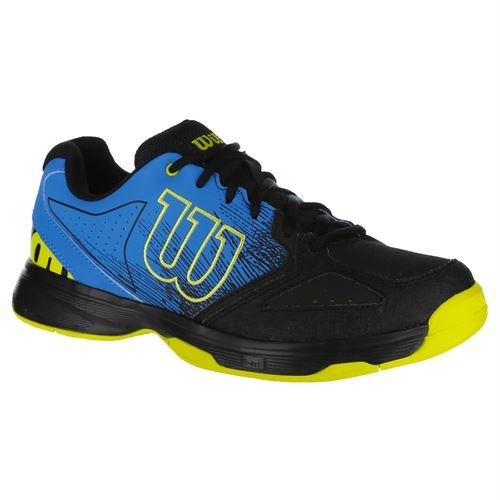 Wilson Stroke Junior Tennis Shoe - Hawaiian/Black/Lime Punch