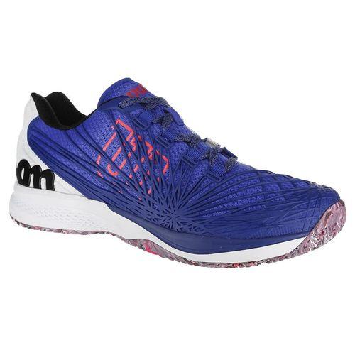 Wilson Kaos 2.0 Mens Tennis Shoe - Blue/White/Red