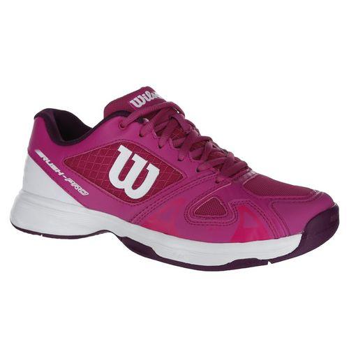 Wilson Rush Pro 2.5 Junior Tennis Shoe - Berry/White/Purple