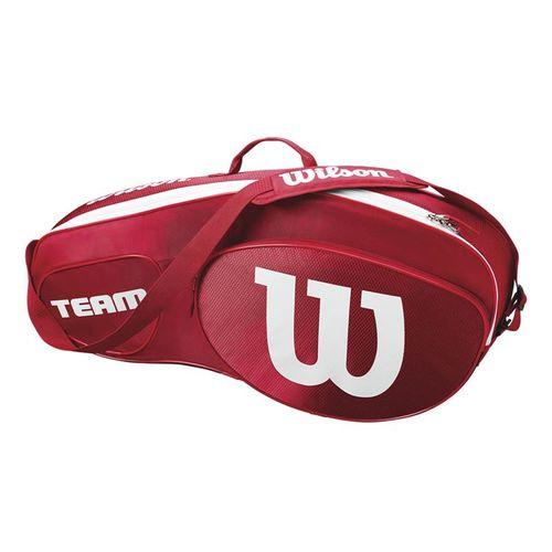 Wilson Team III Triple Tennis Bag - Red