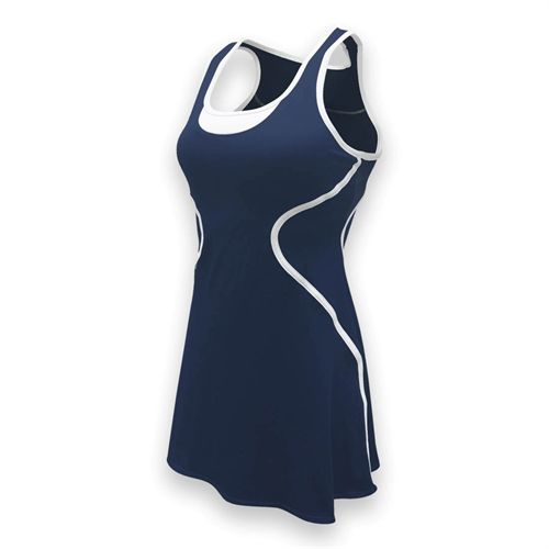 SSI Sophia Tennis Dress - Navy/White