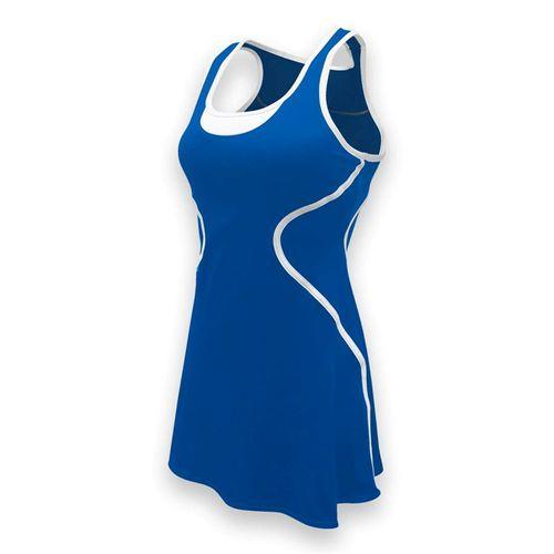 SSI Sophia Tennis Dress - Royal/White