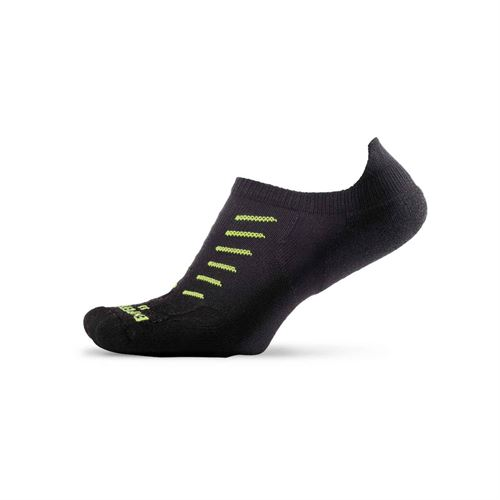 Thorlo Experia No Show Tab Tennis Sock- Black