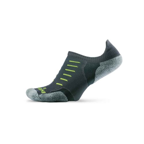 Thorlo Experia No Show Tab Tennis Sock- Grey