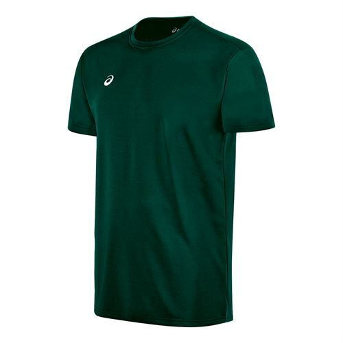 Asics Circuit 8 Warm Up Crew - Forest Green