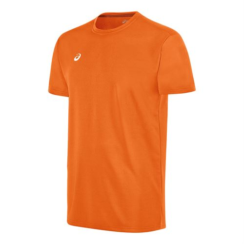 Asics Circuit 8 Warm Up Crew - Neon Orange