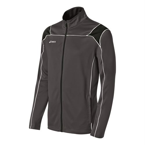 Asics Miles Jacket - Steel Grey/Black