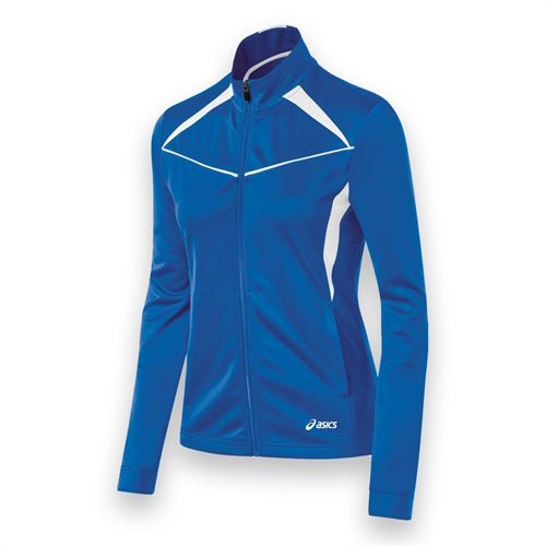 Asics Cali Jacket - Royal/White