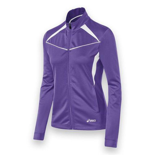 Asics Cali Jacket - Purple/White