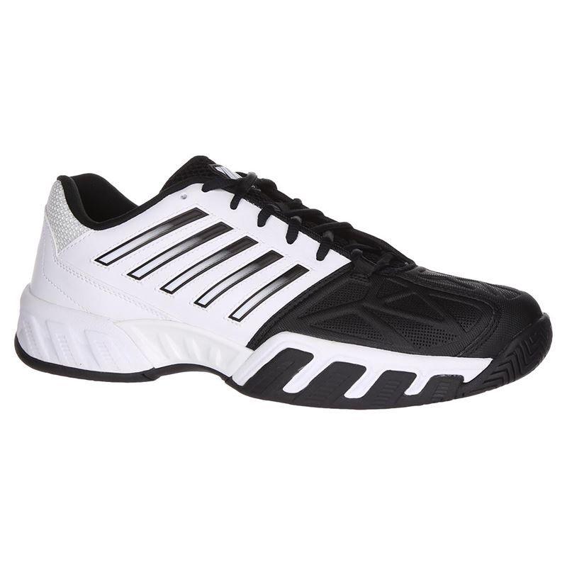 K SWISS BIG LOGO WhiteBlack Herren Sneakers Men's Shoes Size 9.5 M NEW