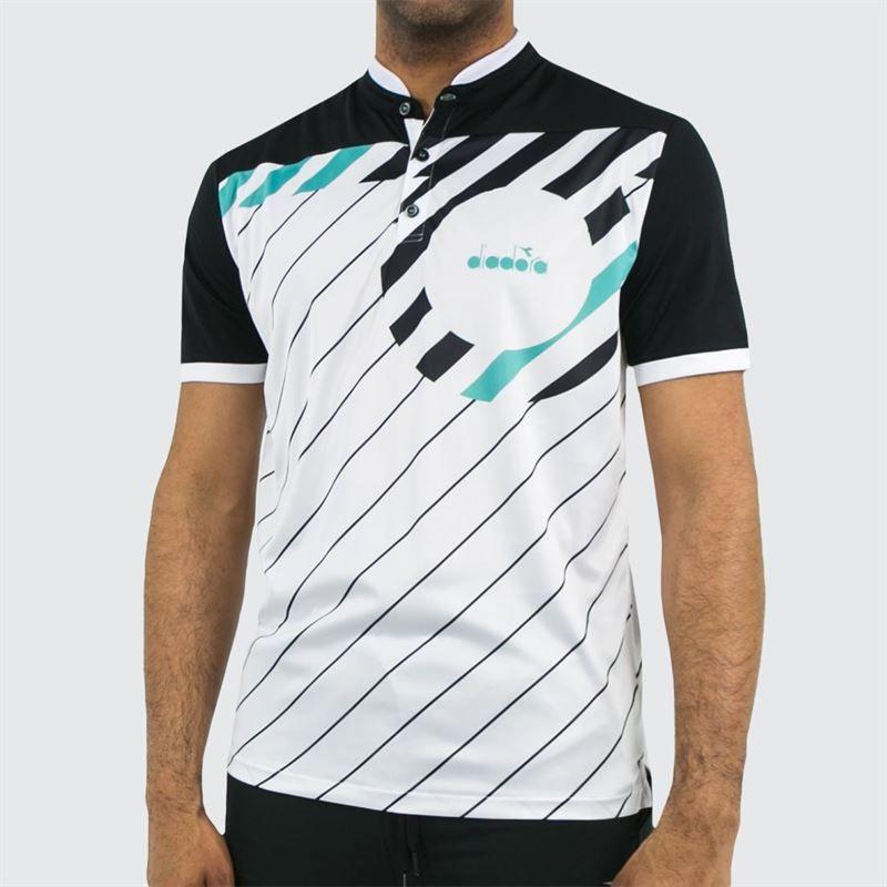 d223a8e6 Diadora Polo, 174131 20002 | Men's Tennis Apparel
