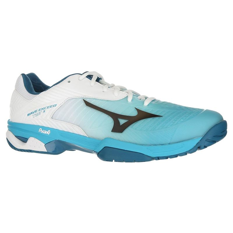Mizuno Mens Wave Exceed Tour 2 Clay Court Tennis Shoes White