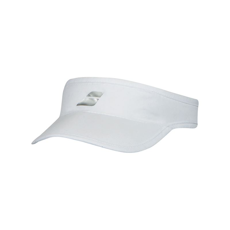 Babolat Visor - White. Zoom 52e7a111f46