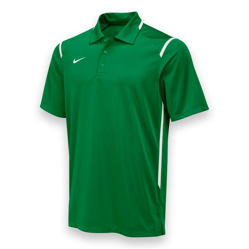 Nike game day polo kelly green 658085316 nike tennis for Cheap coaches polo shirts
