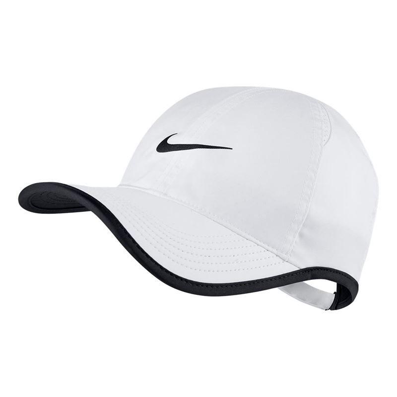 b573b8203ea084 Nike Court Aerobill Feather Light Hat, 679421 100 | Tennis Hats