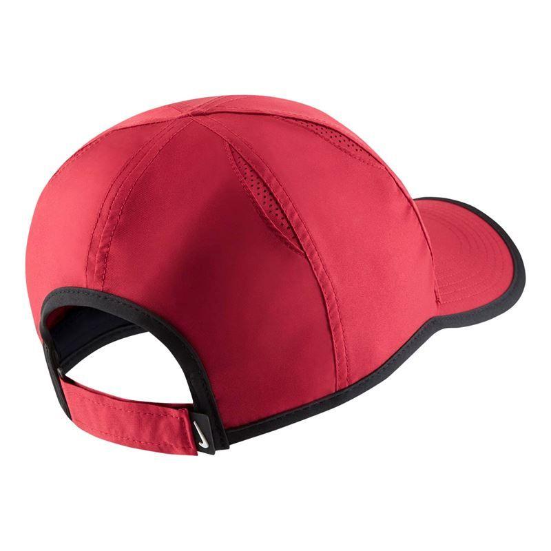 f6747b61 ... Team Crimson/Black/White. Zoom · Nike Court Aerobill Featherlight Hat